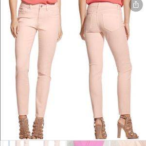 Vince Two coral skinny jeans 26/2 exc cond